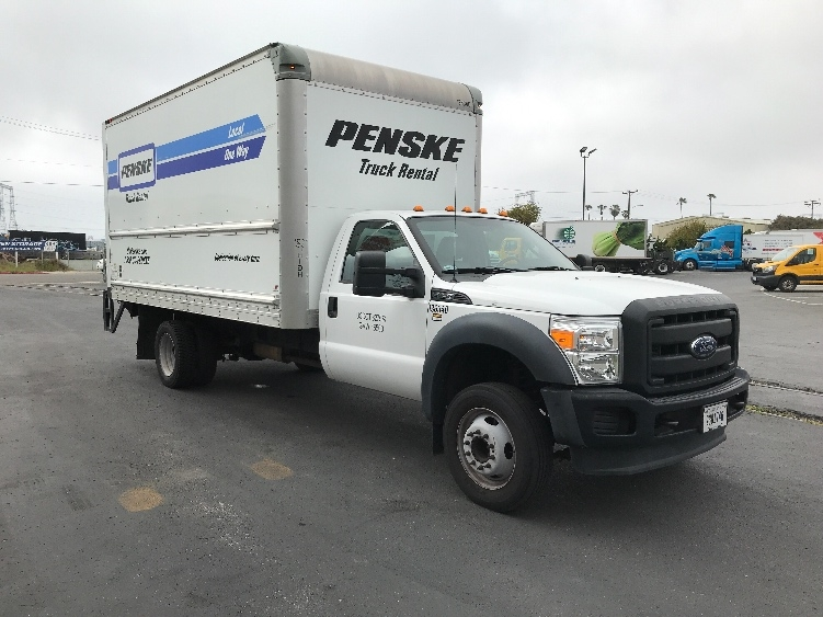 Medium Duty Box Truck-Light and Medium Duty Trucks-Ford-2015-F450-SAN DIEGO-CA-61,626 miles-$35,750