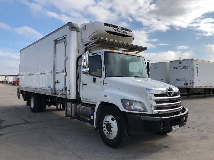 Reefer Truck-Light and Medium Duty Trucks-Hino-2016-268-DALLAS-TX-203,008 miles-$54,250