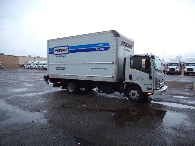 Medium Duty Box Truck-Light and Medium Duty Trucks-Isuzu-2015-NPR-FORT SMITH-AR-75,878 miles-$35,500