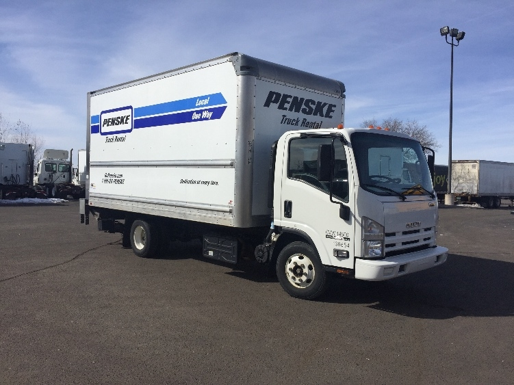 Medium Duty Box Truck-Light and Medium Duty Trucks-Isuzu-2015-NPR-ROSEVILLE-MN-119,718 miles-$33,500