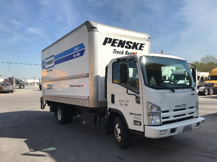 Medium Duty Box Truck-Light and Medium Duty Trucks-Isuzu-2015-NPR-HOUSTON-TX-67,012 miles-$35,750