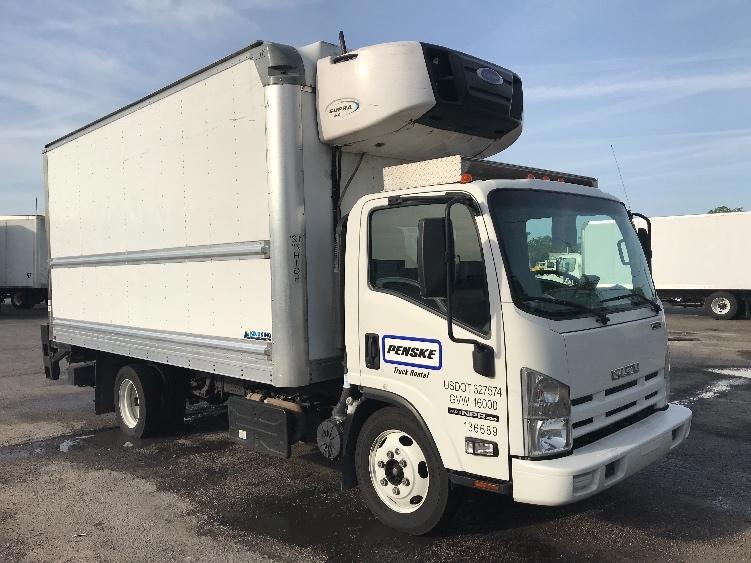 Reefer Truck-Light and Medium Duty Trucks-Isuzu-2015-NPRXD-ORLANDO-FL-69,249 miles-$42,750
