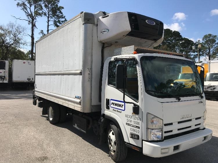 Reefer Truck-Light and Medium Duty Trucks-Isuzu-2015-NPRXD-DAYTONA BEACH-FL-68,850 miles-$42,750