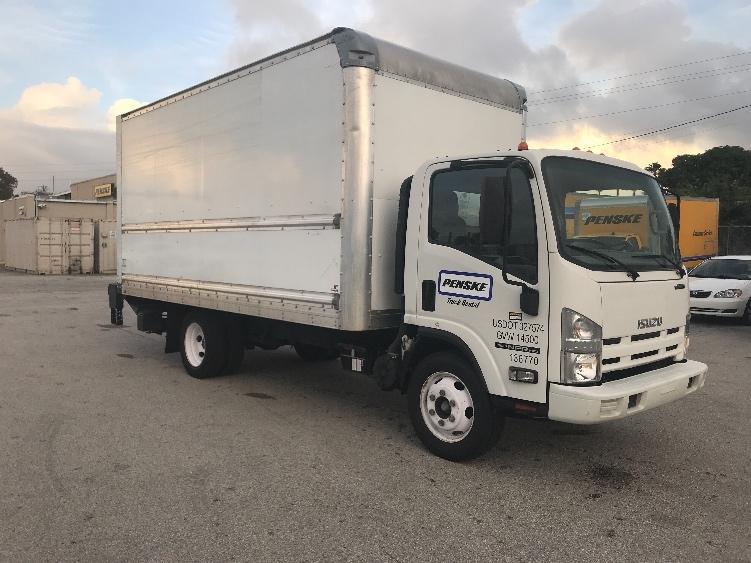 Medium Duty Box Truck-Light and Medium Duty Trucks-Isuzu-2015-NPR EFI-MIAMI-FL-77,933 miles-$32,250