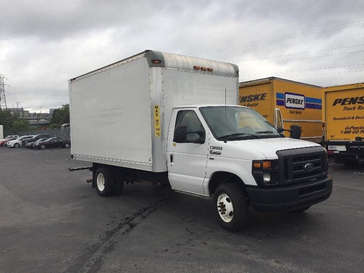 Light Duty Box Truck-Light and Medium Duty Trucks-Ford-2016-E350-NASHVILLE-TN-177,175 miles-$17,500