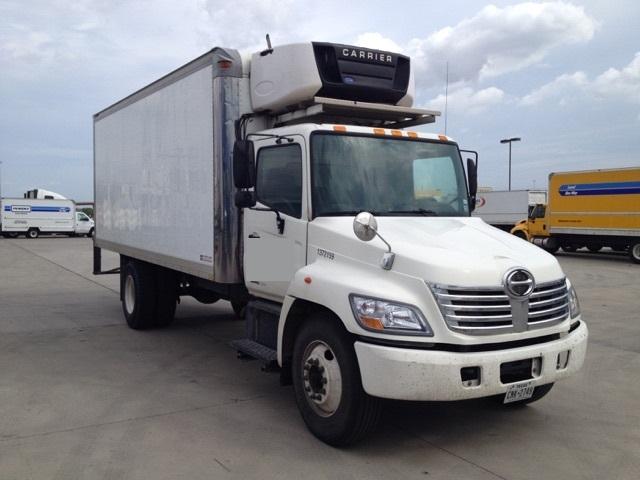 Reefer Truck-Light and Medium Duty Trucks-Hino-2007-268-DALLAS-TX-185,274 miles-$13,500