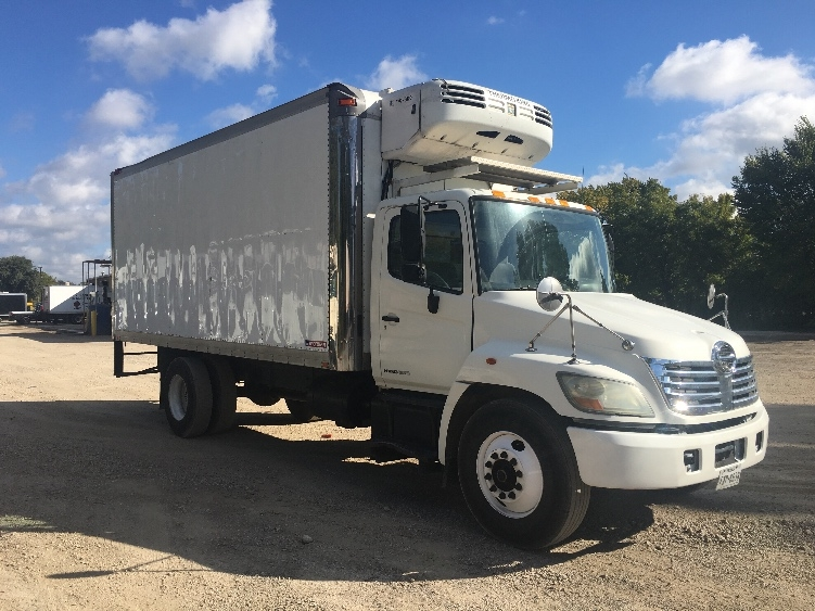 Reefer Truck-Light and Medium Duty Trucks-Hino-2007-268-DALLAS-TX-292,981 miles-$18,250