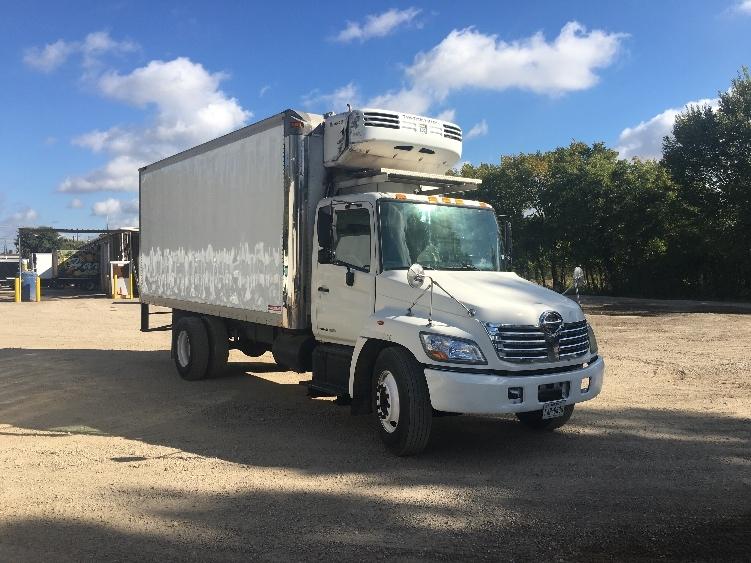 Reefer Truck-Light and Medium Duty Trucks-Hino-2007-268-DALLAS-TX-256,266 miles-$23,000