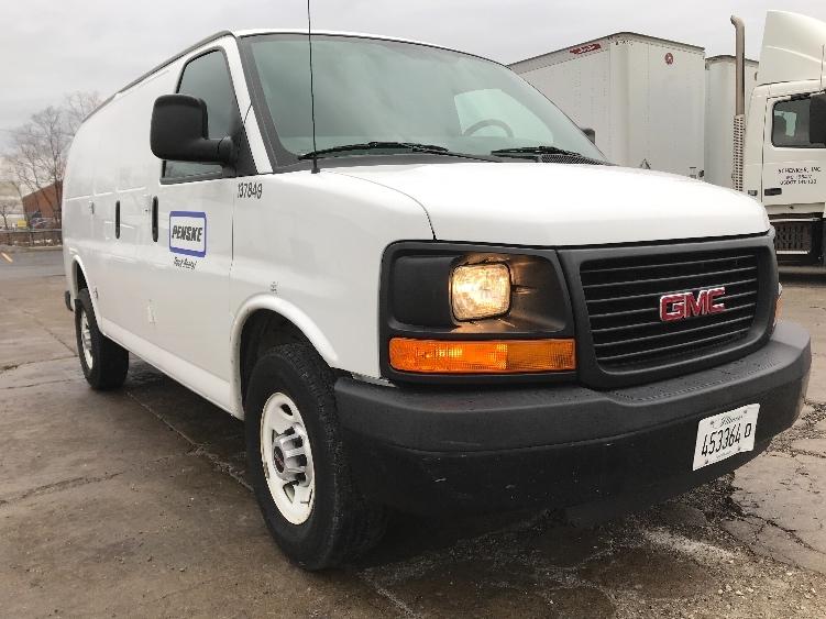 Cargo Van (Panel Van)-Light and Medium Duty Trucks-GMC-2015-Savana G33405-CHICAGO RIDGE-IL-97,371 miles-$19,500