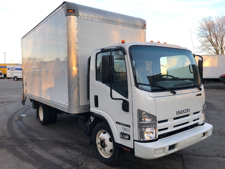 Medium Duty Box Truck-Light and Medium Duty Trucks-Isuzu-2015-NPR EFI-GRAND RAPIDS-MI-101,314 miles-$29,750