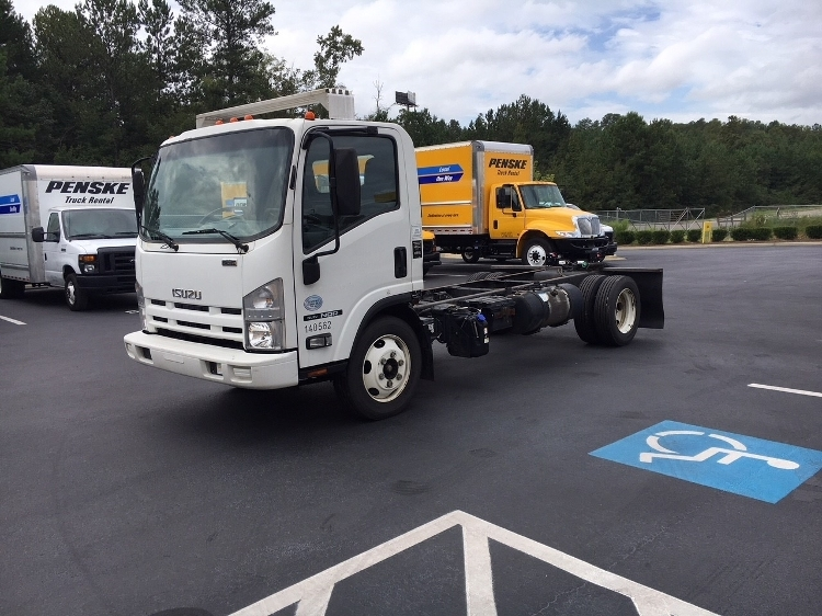 Cab and Chassis Truck-Light and Medium Duty Trucks-Isuzu-2015-NQR-ALABASTER-AL-179,835 miles-$25,000