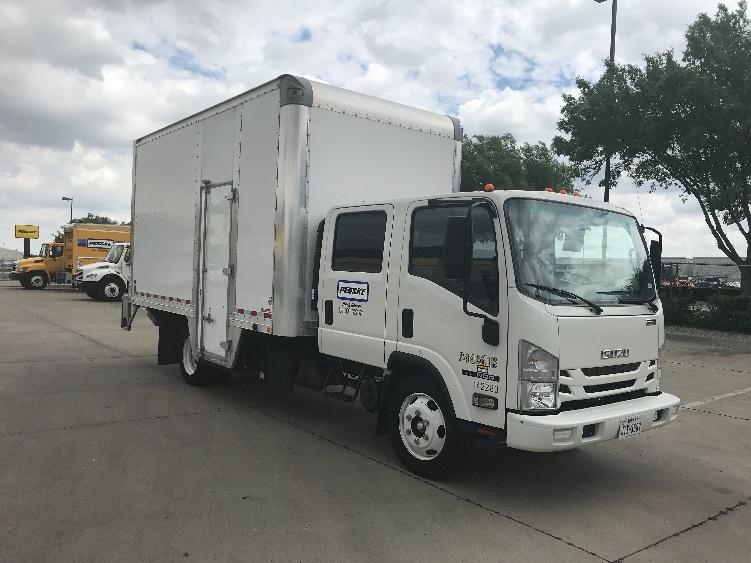 Medium Duty Box Truck-Light and Medium Duty Trucks-Isuzu-2016-NQR-DALLAS-TX-35,468 miles-$58,000