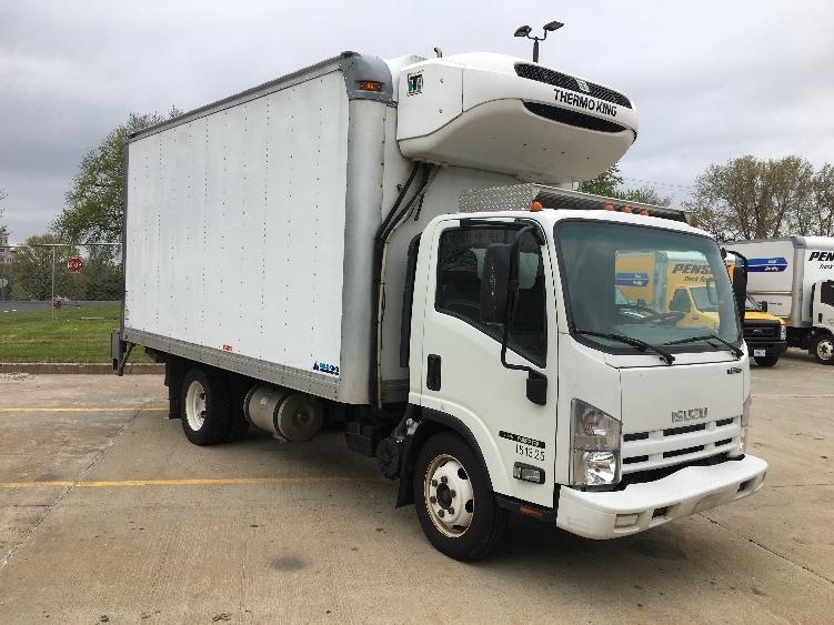 Reefer Truck-Light and Medium Duty Trucks-Isuzu-2015-NPR EFI-CHICOPEE-MA-127,777 miles-$29,750