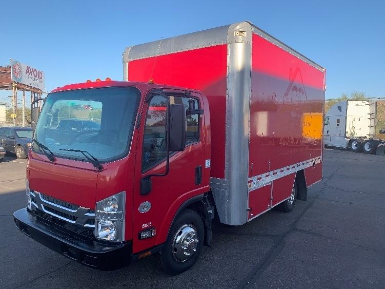 Medium Duty Box Truck-Light and Medium Duty Trucks-Isuzu-2016-NPR-PHOENIX-AZ-73,690 miles-$32,750