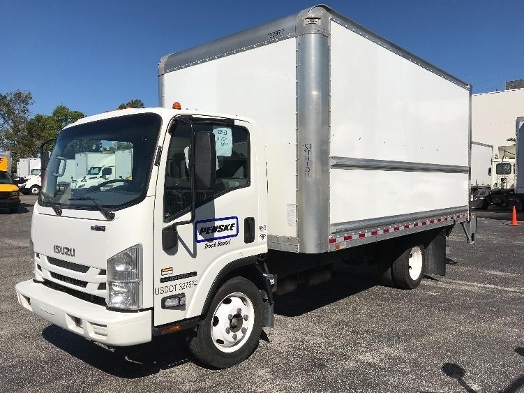 Medium Duty Box Truck-Light and Medium Duty Trucks-Isuzu-2016-NPR EFI-ORLANDO-FL-67,944 miles-$35,250