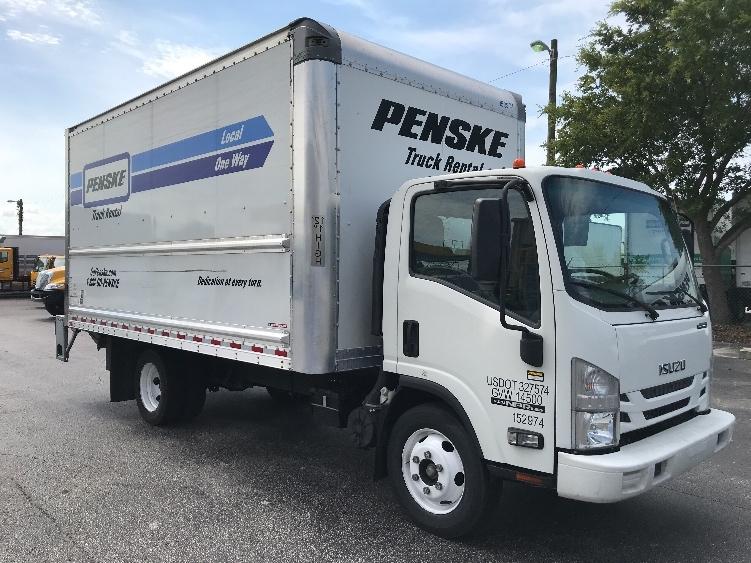 Medium Duty Box Truck-Light and Medium Duty Trucks-Isuzu-2016-NPR EFI-ORLANDO-FL-77,106 miles-$33,500