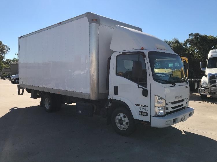 Medium Duty Box Truck-Light and Medium Duty Trucks-Isuzu-2016-NPR-HOUSTON-TX-108,385 miles-$39,500