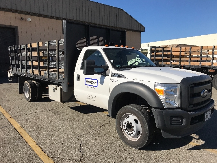 Flatbed Truck-Specialized Equipment-Ford-2016-F450-FONTANA-CA-83,678 miles-$35,500