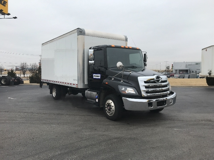 Medium Duty Box Truck-Light and Medium Duty Trucks-Hino-2017-258LP-OKLAHOMA CITY-OK-41,310 miles-$64,250
