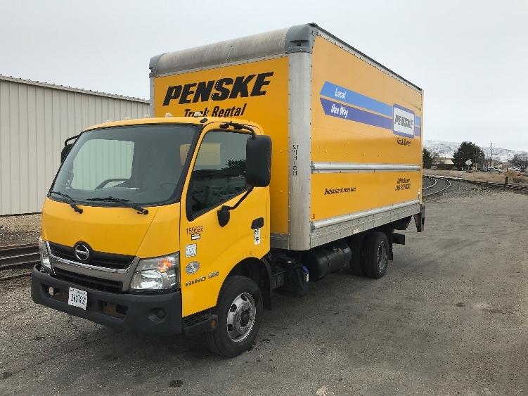 Medium Duty Box Truck-Light and Medium Duty Trucks-Hino-2017-155-PORTLAND-OR-66,308 miles-$41,000