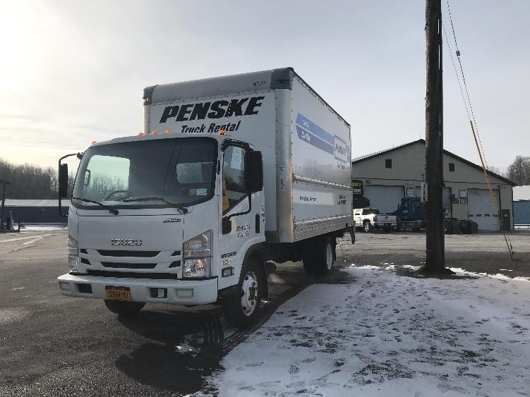 Medium Duty Box Truck-Light and Medium Duty Trucks-Isuzu-2016-NPR EFI-ALBANY-NY-72,883 miles-$30,500