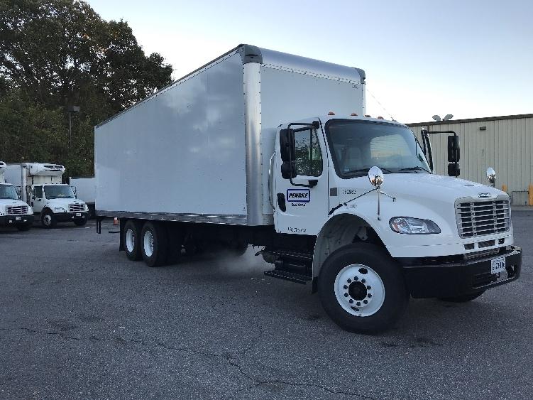 Medium Duty Box Truck-Light and Medium Duty Trucks-Freightliner-2018-M2-CHESAPEAKE-VA-5,182 miles-$89,250