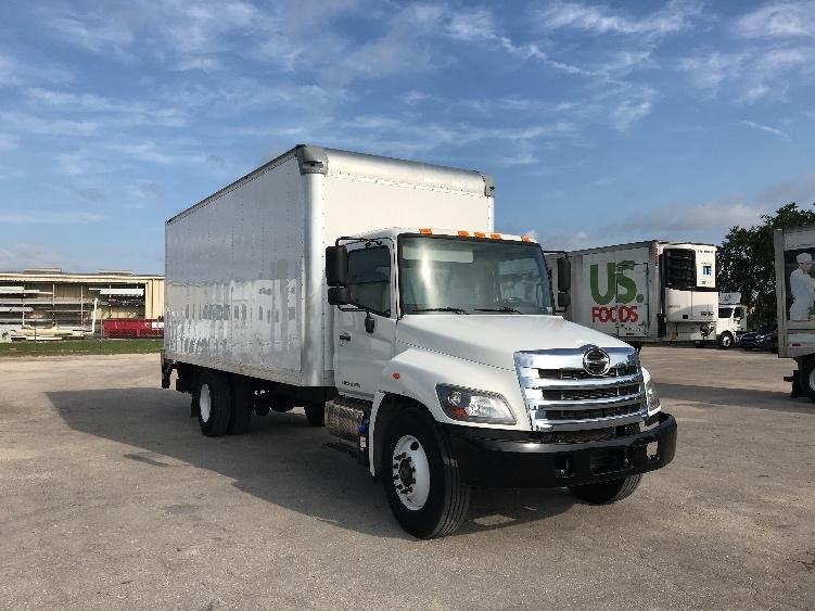 Medium Duty Box Truck-Light and Medium Duty Trucks-Hino-2017-268-FORT MYERS-FL-94,415 miles-$63,500