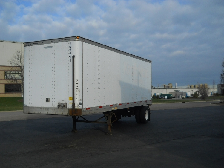 Dry Van Trailer-Semi Trailers-Trailmobile-2003-Trailer-MIDDLEFIELD-OH-419,162 miles-$5,500