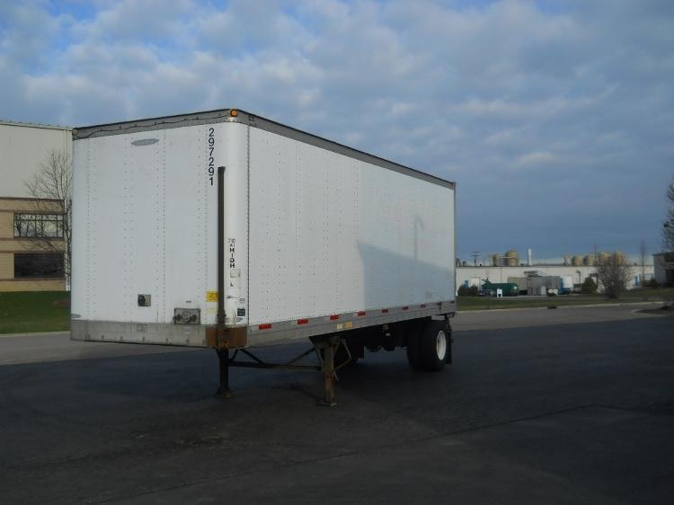 Dry Van Trailer-Semi Trailers-Trailmobile-2003-Trailer-MANSFIELD-OH-394,237 miles-$5,500