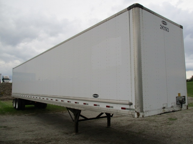 Dry Van Trailer-Semi Trailers-Strick-2007-Trailer-FORT WAYNE-IN-140,662 miles-$11,250