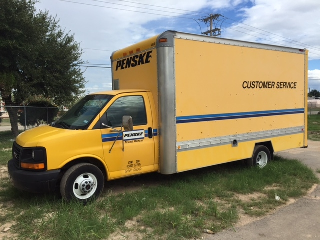 Light Duty Box Truck-Light and Medium Duty Trucks-GMC-2004-Savana G33903-SAN ANGELO-TX-186,243 miles-$2,500