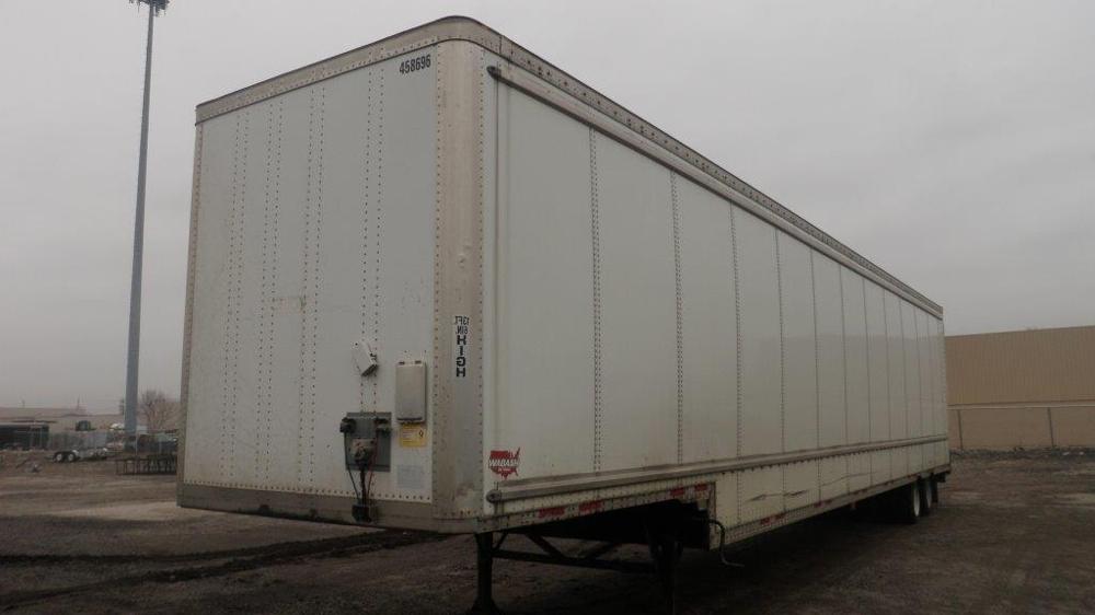 Dry Van Trailer-Semi Trailers-Wabash-2006-Trailer-WARREN-MI-84,248 miles-$13,750