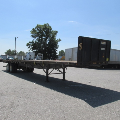 Flatbed Trailer-Semi Trailers-Utility-2008-Trailer-FORT WAYNE-IN-184,656 miles-$19,500