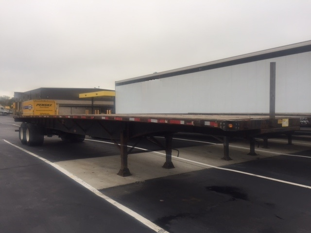 Flatbed Trailer-Semi Trailers-Utility-2008-Trailer-OAKWOOD VILLAGE-OH-446,443 miles-$10,500
