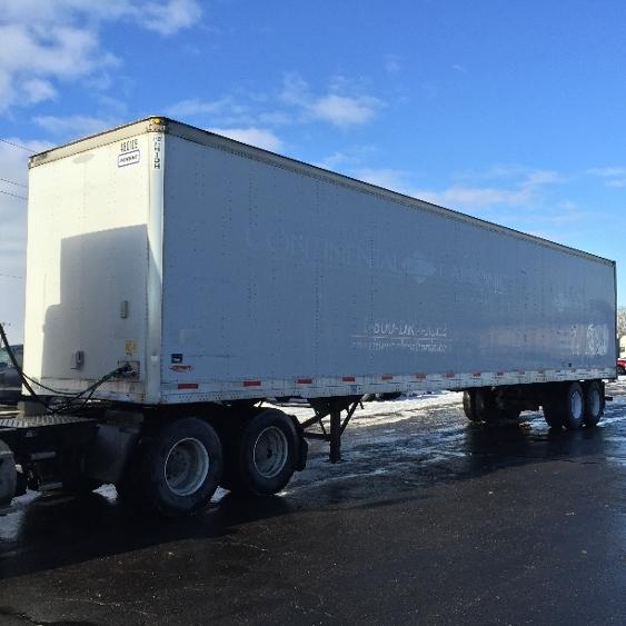 Dry Van Trailer-Semi Trailers-Trailmobile-2008-Trailer-KENTWOOD-MI-368,686 miles-$12,500