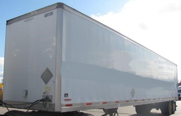 Dry Van Trailer-Semi Trailers-Trailmobile-2008-Trailer-OMAHA-NE-338,123 miles-$16,500