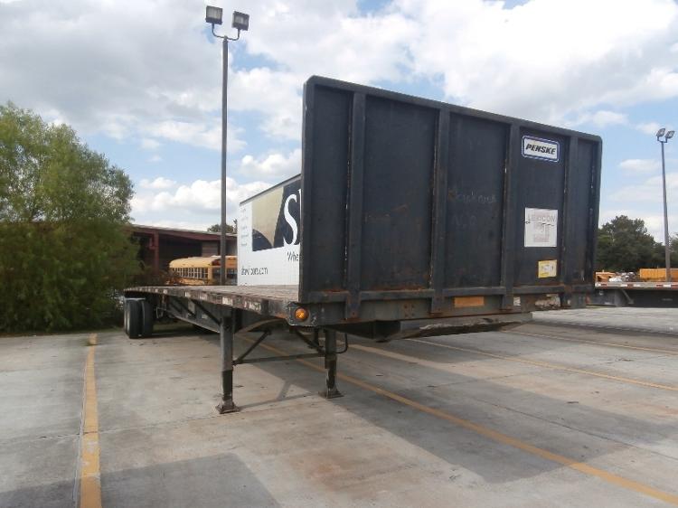 Flatbed Trailer-Semi Trailers-Utility-2008-Trailer-BATON ROUGE-LA-118,669 miles-$16,750