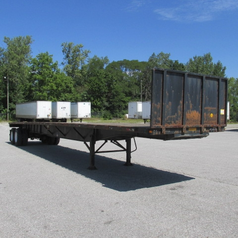 Flatbed Trailer-Semi Trailers-Utility-2008-Trailer-FORT WAYNE-IN-213,236 miles-$19,500