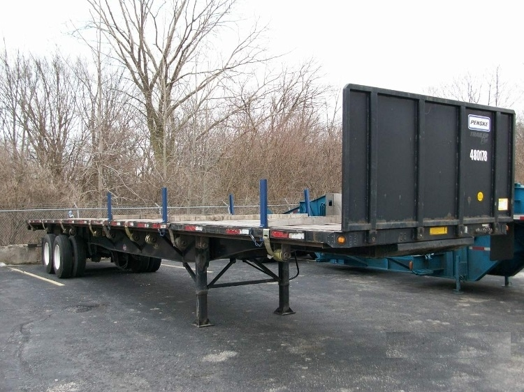 Flatbed Trailer-Semi Trailers-Utility-2008-Trailer-WABASH-IN-107,172 miles-$13,750