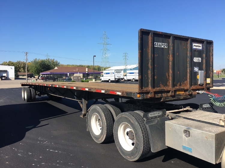 Flatbed Trailer-Semi Trailers-Utility-2008-Trailer-NEENAH-WI-264,723 miles-$14,000