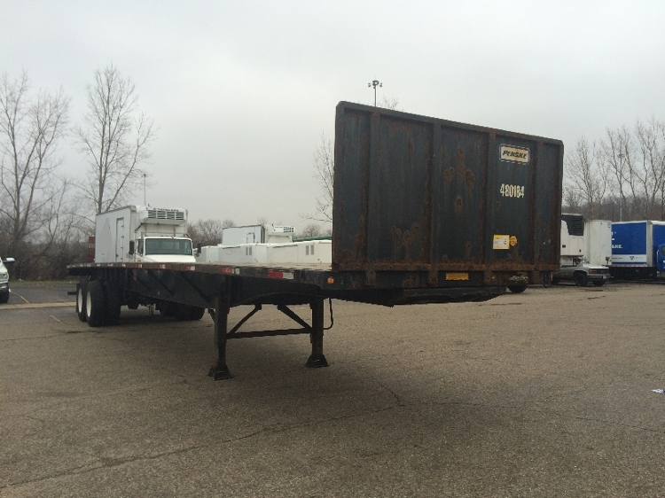 Flatbed Trailer-Semi Trailers-Utility-2008-Trailer-AKRON-OH-337,407 miles-$16,000