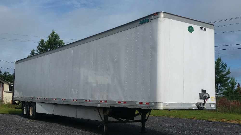 Dry Van Trailer-Semi Trailers-Great Dane-2009-Trailer-HATTIESBURG-MS-710,206 miles-$19,000