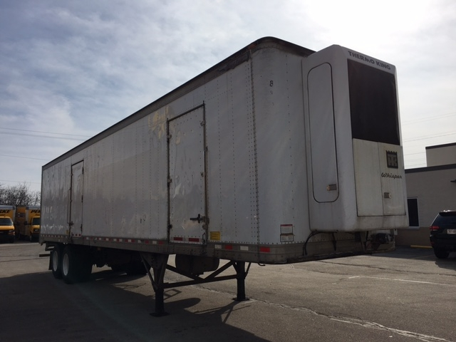 Reefer Trailer-Semi Trailers-Great Dane-2007-Trailer-ROMEOVILLE-IL-343,372 miles-$9,250