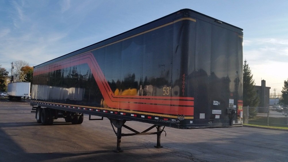 Dry Van Trailer-Semi Trailers-Great Dane-2007-Trailer-ALBANY-NY-331,454 miles-$9,000