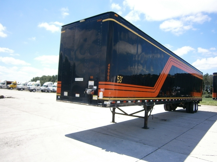Dry Van Trailer-Semi Trailers-Great Dane-2007-Trailer-WILMINGTON-OH-372,054 miles-$11,250