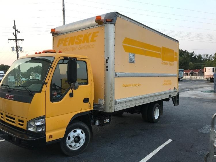 Medium Duty Box Truck-Light and Medium Duty Trucks-GMC-2007-W4500-SPARTANBURG-SC-176,791 miles-$5,500