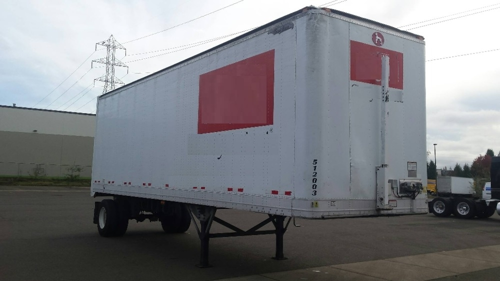 Dry Van Trailer-Semi Trailers-Great Dane-2007-Trailer-WILSONVILLE-OR-275,582 miles-$10,500