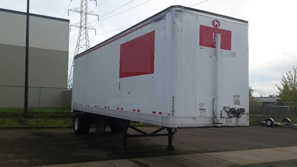 Dry Van Trailer-Semi Trailers-Great Dane-2007-Trailer-WILSONVILLE-OR-250,000 miles-$10,500