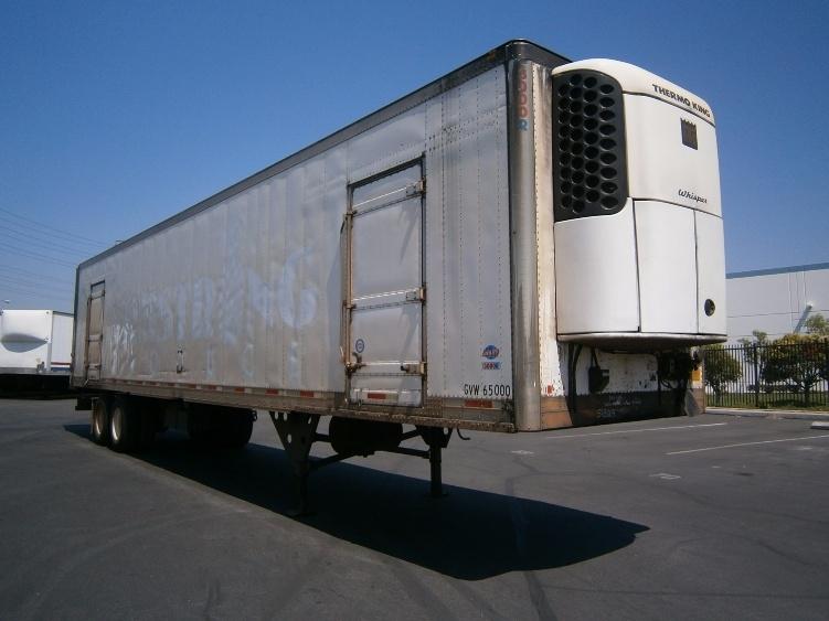 Reefer Trailer-Semi Trailers-Utility-2007-Trailer-MONTEBELLO-CA-99,487 miles-$14,250