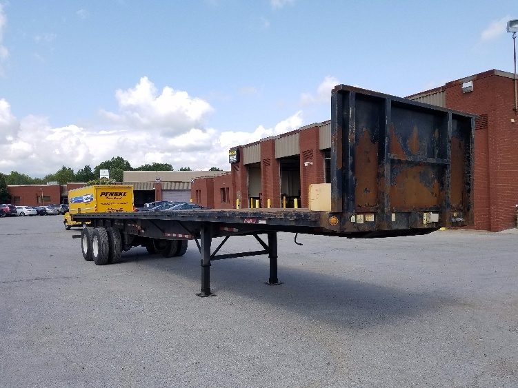 Flatbed Trailer-Semi Trailers-Great Dane-2007-Trailer-MIDDLEFIELD-OH-395,483 miles-$10,000